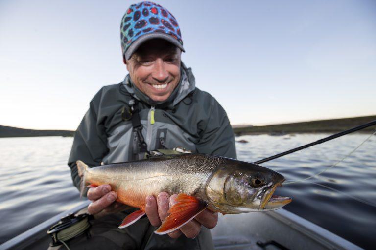 Jonas Nordigårds och fisk