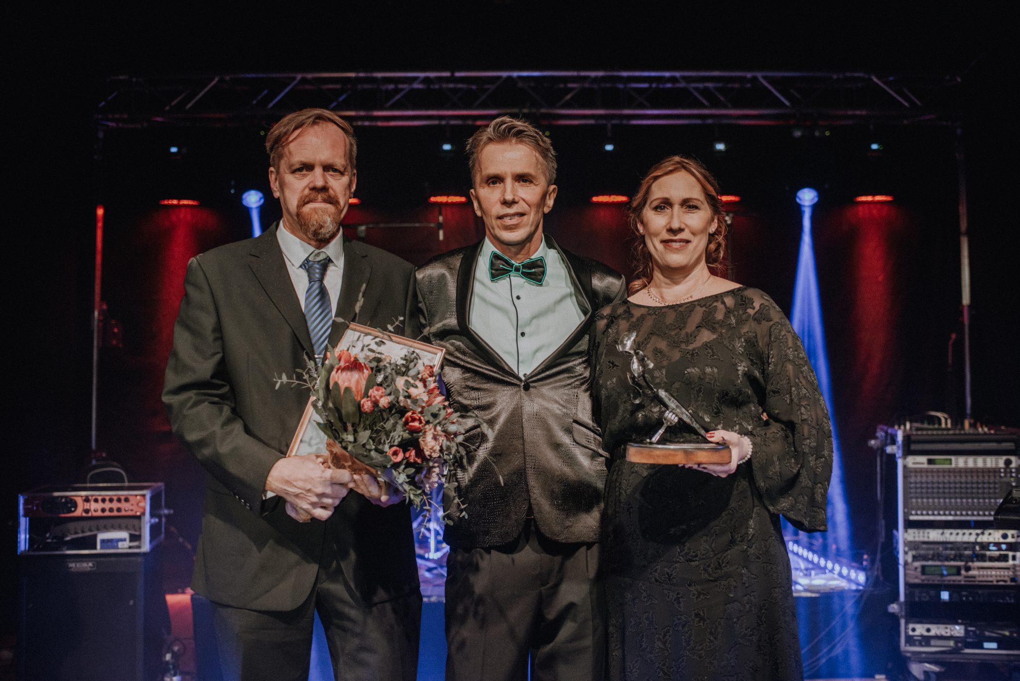Niclas Lindholm, Mikael Lundell, Lotta Skrtic-Lindholm