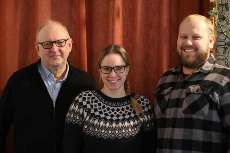 Brage Wilhelms, Therese Ling, David Ståhlman