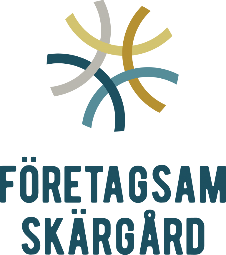 företagsam skärgård logotyp